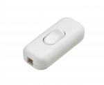 Knightsbridge 6A DP Inline Cord Switch - White (ST6AWH)